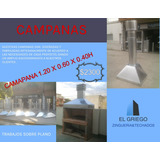 Campana Para Parrilla 1.20x 0.60 Galvanizada