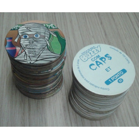 Tazos Da Coleção Buzzy Caps