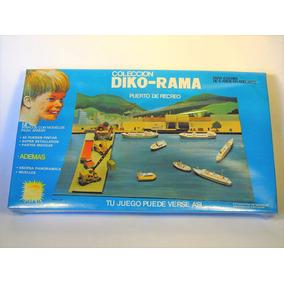 Diko-rama Puerto De Recreo Vintage Juguete De Colección