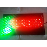 Cartel Led Luminoso Peluqueria 220 Volts