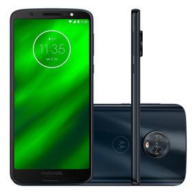 Motorola Moto G6 Plus 64gb Indigo Novo + Nfe