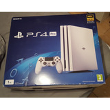 Play Station 4 Pro 1tb Blanca Especial Edition 2 Controles