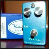 Keeley Compressor Blue Jean Limited Edition