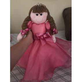 Boneca De Pano Princesa 44cm