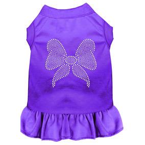 Vestido Arco Diamante De Imitación Lg Púrpura (14)