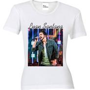 Camiseta, Baby Look, Regata Ou Almofada Luan Santana 02