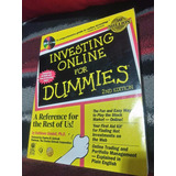 Único Investing Online For Dummies By Sindell + Cd En Inglés