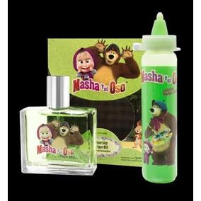Masha Y El Oso Perfume Para Niños Y Niñas