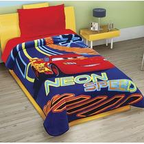 Cobertor Individual Disney Cars Neon Excell Plus 3d