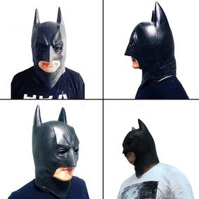 Mascara Do Batman Em Látex Pronta Entrega