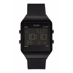 Reloj Guess Digital W0595g1 Negro P/caballero Envío Gratis*