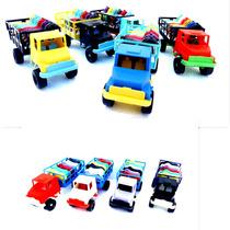 13 Pçs Kit -brinquedos Caminhão-bois-cavalos-ioio-violinha
