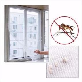 Tela Mosquiteiro Mosquito Chikungunya Janelas Velcro Adesivo