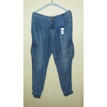 Jeans Tipo Jogger De Mezclilla Studio F Talla 8 Envío Gratis