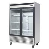 Freezer Exhibidor Vertical Gastronomico 2 Puertas 1335 Lts