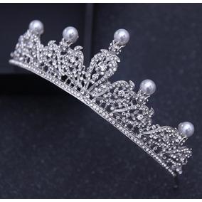 Tiara /coroa Noiva / Debutante - Grinalda - Casamento Pérola