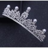 Coroa Noiva / Debutante / Dama - Grinalda - Casamento Pérola