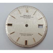 Caratula Rolex Oyster Perpetual Date Just Original