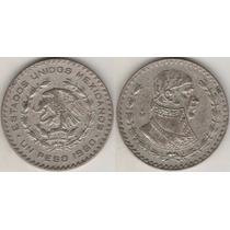 Moneda Un Peso Morelos Usado