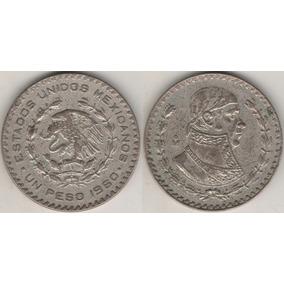 Moneda De Un Peso Morelos Usado