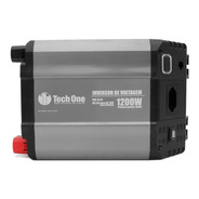 Inversor De Voltagem Tech One 1200w 24v Para 220v Modificada