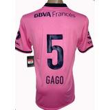 Camiseta De Boca Juniors Suplente 2013 Rosa Gago #5 Small