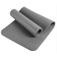 Colchoneta Yoga Mat Forest Fitness Pilates Enrollable 10mm