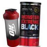 Monster Extreme Black 44 Packs - Novo - Promoção Com Brinde