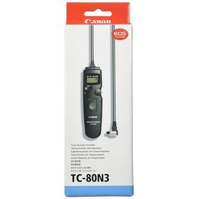 Canon Tc-80n3 Temporizador Mando A Distancia Para 10d 20d 30