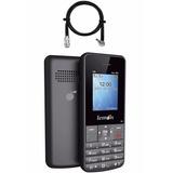 Telefone Celular Lemon Dual Chip Sensi 3g + Adap Antena Rura