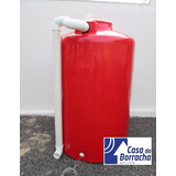 Cisterna Vertical 2000 L Captação Chuva Não Fortlev Fibra
