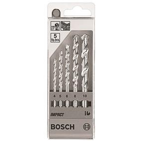 Jogo De Broca Concreto 5 Peças - Bosch