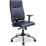 Cadeira Presidente Izzi Base Cromada Mecanismo Sincronizado