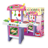 Mi Primer Cocinita Didactica Luni Cocina Accesorios Infantil