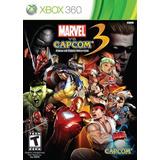 Marvel Vs Capcom 3 Destino De Dos Mundos - Xbox 360