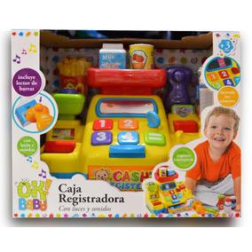 Caja Registradora Interactiva C/ Luces Y Sonidos Ok Baby