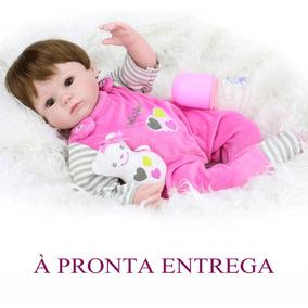 Reborn Boneca Bebe 40cm +kit A Pronta Entrega Ultima
