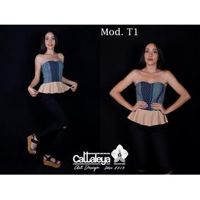 Tops Blusa Camisa Para Dama Moda Cattaleya