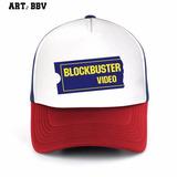 Gorra Blockbuster Video Vhs Retro Trucker Kit X7 Unidades