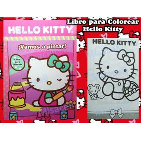 10 Libro Colorear Hello Kitty Recuerdos De Fiesta :)