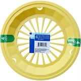 Amarelo - Plástico, Papel, Chapa De Titulares De 4, Reutili