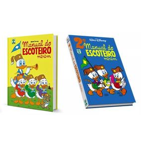 Livros Hq Manual Do Escoteiro Mirim Vol 1 + Vol 2 Disney