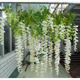 Lote 12 Wisteria [envío Gratis] Flor Artificial Decoración