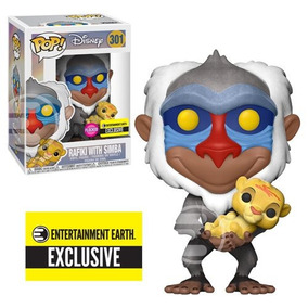 The Lion King Rafiki With Baby Simba Rey Leon Pop! Funko