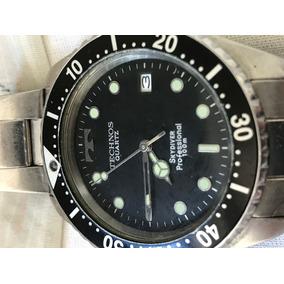 dffc3c89bf8 Relogio Technos Acqua 300m Mergulho - Relógios De Pulso no Mercado ...