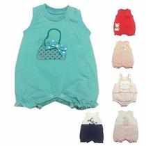 Saída Festa Vestido Roupa Bebê Criança Macacão Jardineira