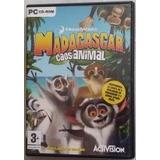 Juego Pc Madagascar Caos Animal Aventura +3 Años Zona Devoto