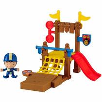 Boneco Mike O Cavaleiro Centro De Treinamento Mattel