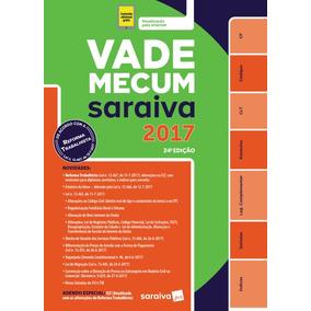 Vade Mecum Saraiva -24ª Edição - 2017 - 2º Semestre