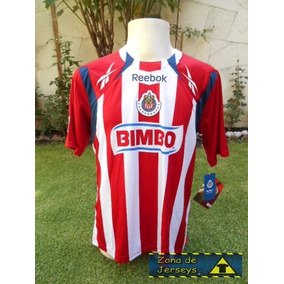 Jersey Chivas Guadalajara Reebok 2010 Local 100% Mexicanos